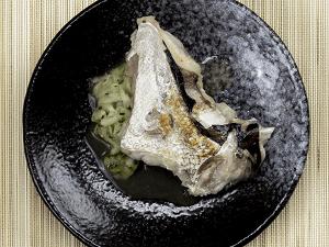 白身魚のカマ焼き