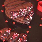 【バレンタイン】 簡単かわいい!ハート型カリカリチョコレート