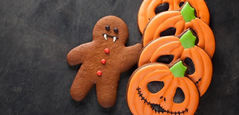 【ハロウィンクッキー】オリーブオイルで作るかぼちゃクッキー