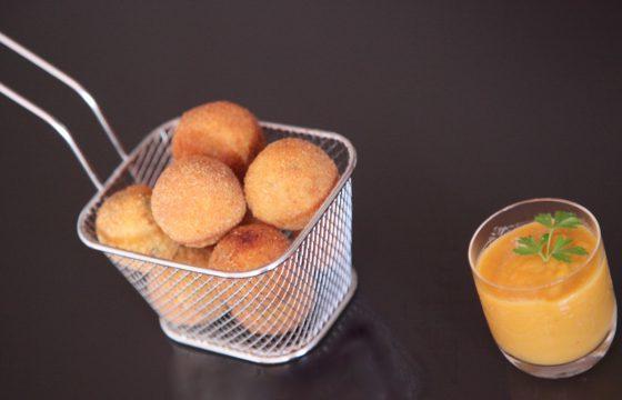 【美味しいコロッケ】オリーブオイルできのこコロッケを揚げよう!