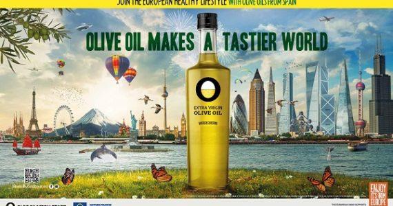 『オリーブオイルで世界をもっと美味しく』キャンペーンヨーロッパ編