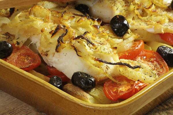 【バカリャウレシピ】バカリャウのオーブン焼きをオリーブオイルで