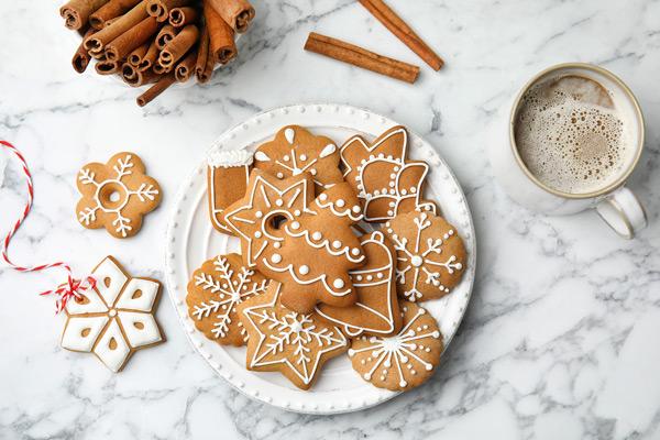 米粉のクリスマスクッキー